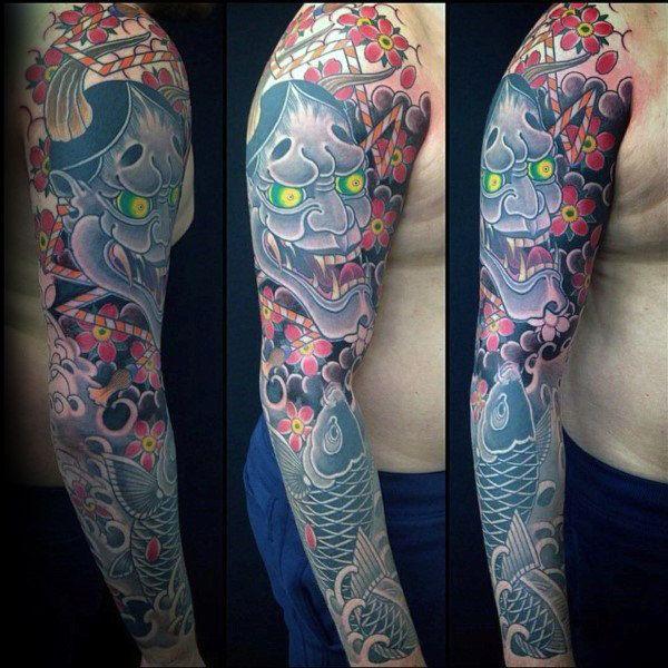 100 Cherry Blossom Tattoo Designs For Men Floral Ink Ideas Japanese Tattoos For Men Tattoos For Guys Blossom Tattoo