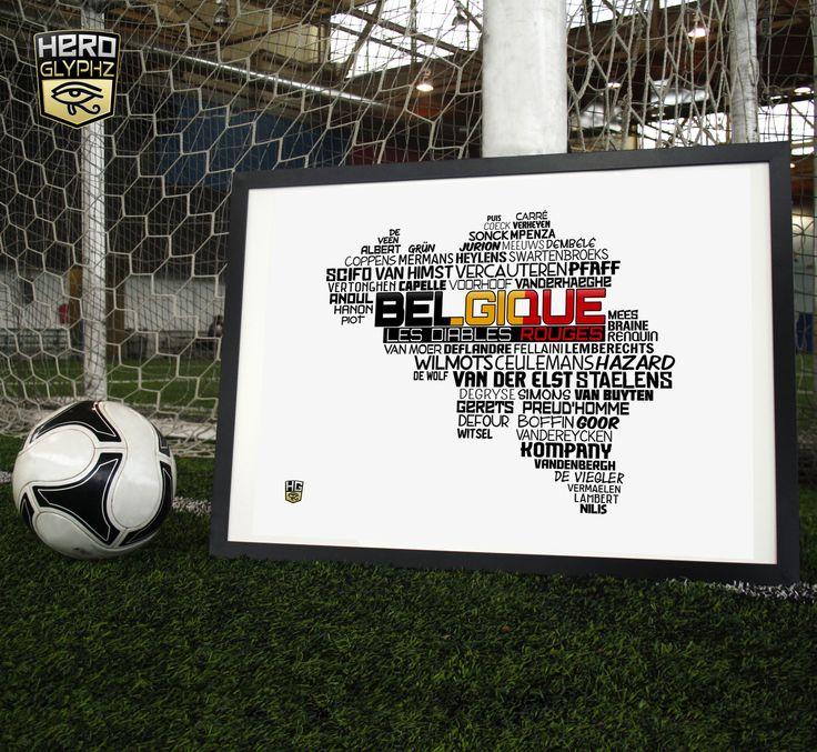 National Soccer Team of Belgium
