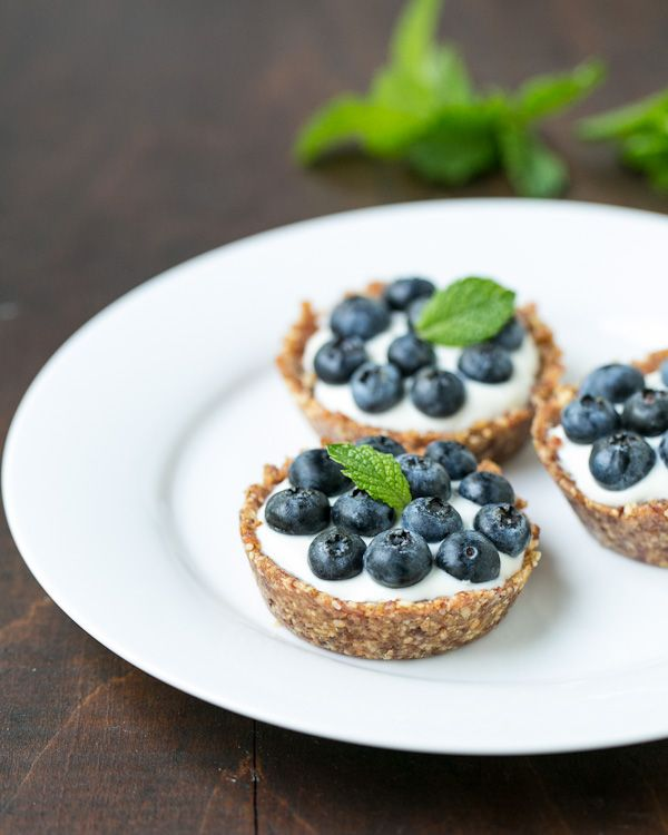 Blueberry Tartlettes  healthy dessert