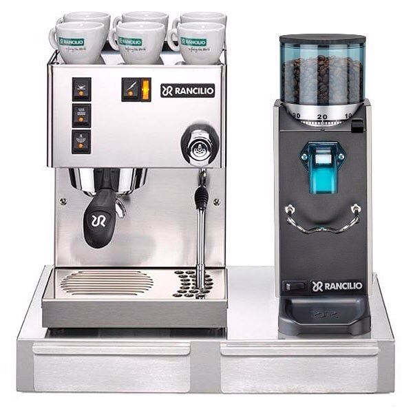 You can now get one of these amazing Rancilio bundles at Cape Coffee Beans! #espresso #rancilio #coffee #italian