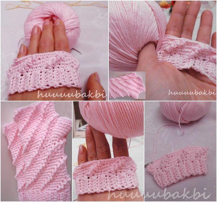 crochet gloves,tığ eldiven