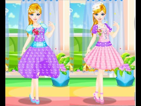 Cute Girls Design Clothes For Barbie - Games For Girls