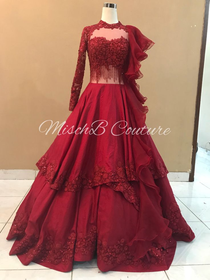 MischB Couture bridal gown