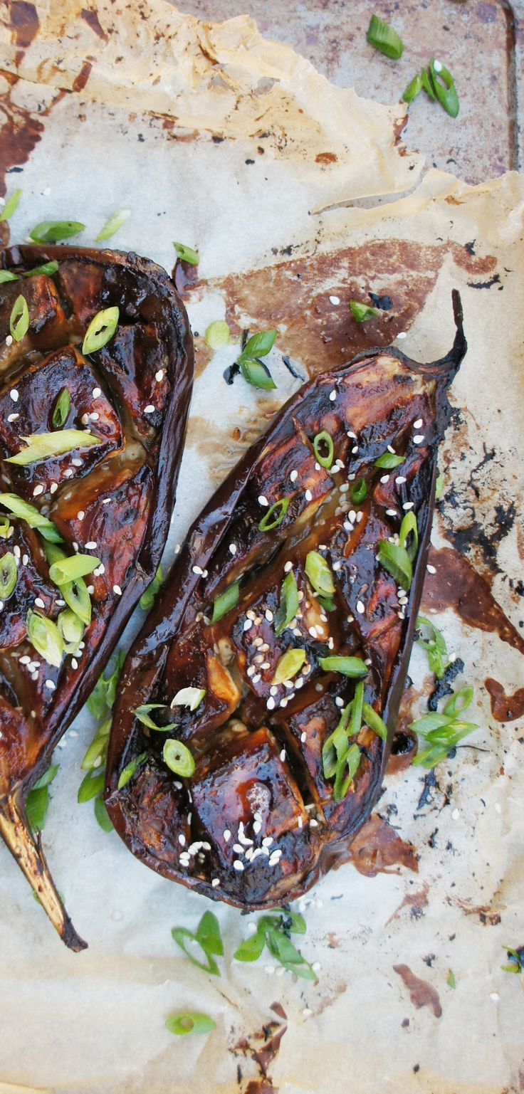 Miso and aubergine are a match made in heaven – particularly when the aubergine in question is marinated in punchy hatcho miso, the darkest and most flavourful of all miso pastes. with a touch of honey to sweeten the deal, this baked aubergine recipe is a great side dish, particularly when served with fluffy rice.