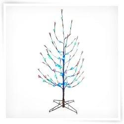 best 25 pre lit twig tree ideas on pinterest pre lit. Black Bedroom Furniture Sets. Home Design Ideas