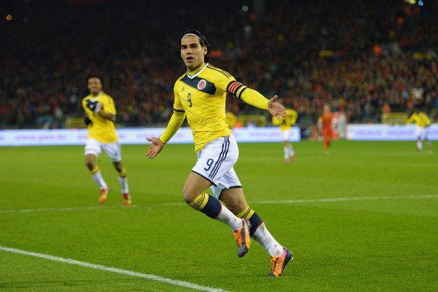 Falcao ficou algumas semanas na mira do Real Madrid, mas fechou com o Manchester United