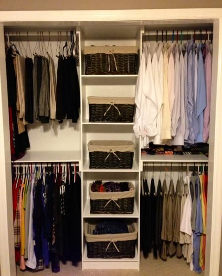 Simple Closet Organizer | Do It Yourself Home Projects from Ana White