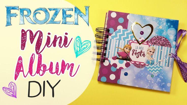 DIY Mini Album Frozen - Album Frozen Fai da te!