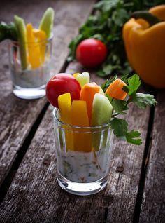 Sauces pour légumes crus à l'apéro  - Dips