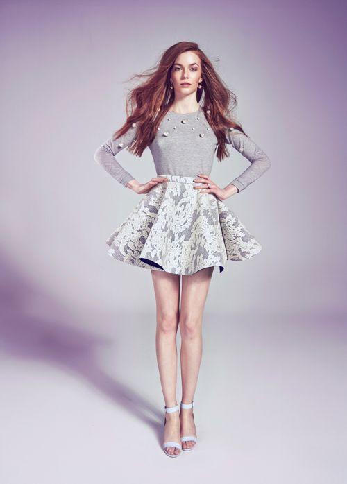 Ivy Blouse / Amelia Skirt
