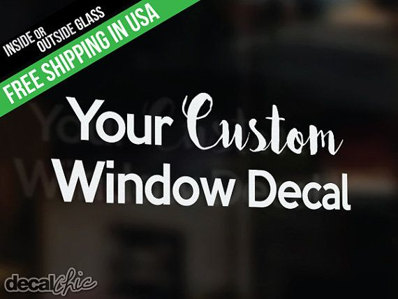 Best Custom Window Decals Ideas On Pinterest Custom Window - Window decals custom business