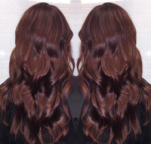 hair brown deep hair cherry chocolate burgundy hair burgundy brown ...