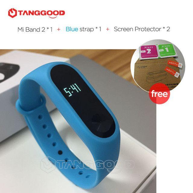 Original Xiaomi Mi Band 2 Smart Bracelet Wristband Miband 2 Fitness Tracker Bracelet Smartband Heart Rate Monitor for iPhone