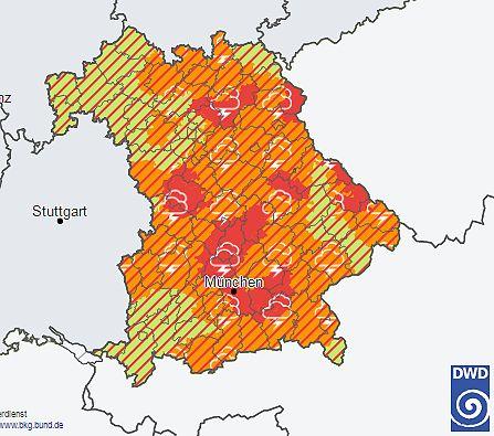 Wetter aktuell: Unwetter überschwemmt Teile Bayerns - FOCUS Online