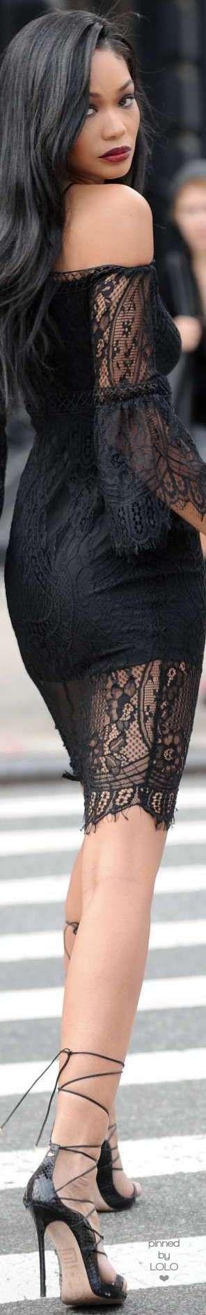 Chanel Iman Street Chic