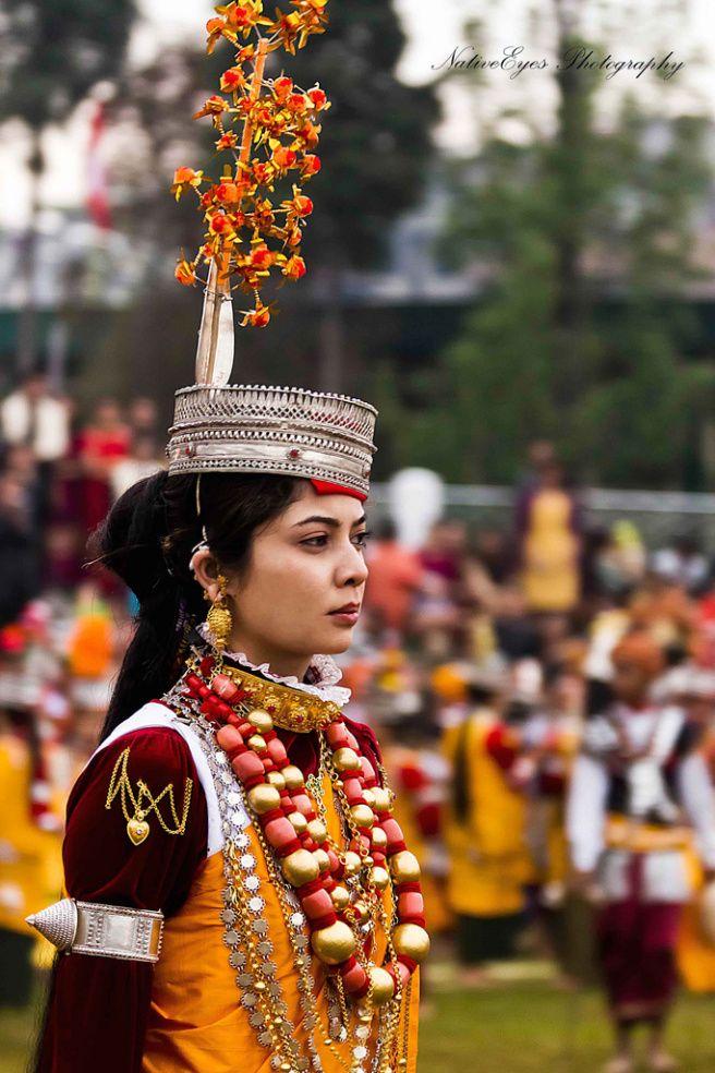 Khasi Tribe Headgear #Tribal #Jewellery #India