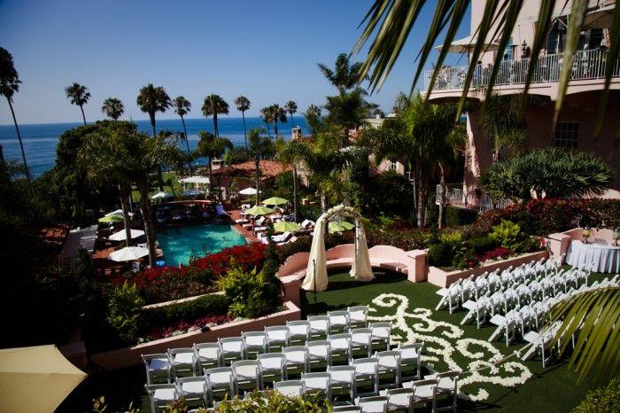 Christy and Ken : La Valencia Hotel