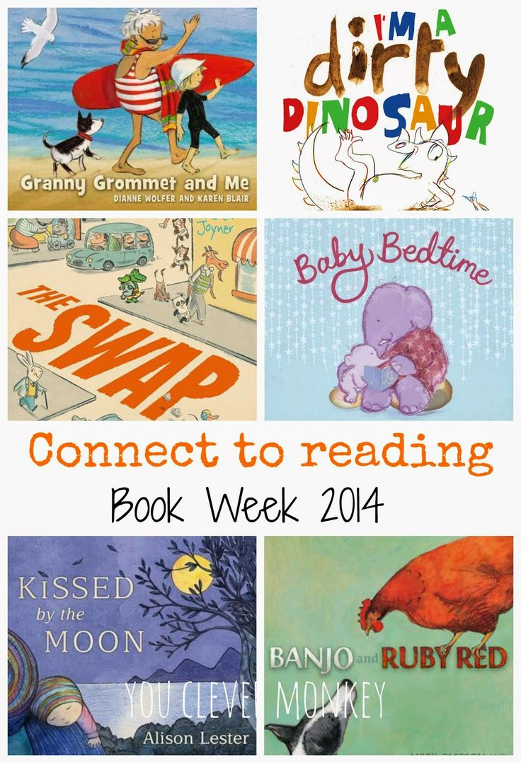 Book Week 2014 - ideas for teaching reading comprehension strategies using this year's early childhood books.  For more, go to http://youclevermonkey.com/