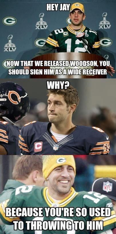 Green Bay Packers | NFL Memes, Sports Memes, Funny Memes, Football Memes, NFL Humor, Funny Sports.