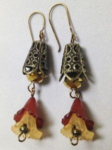 Vintage Tears Earrings