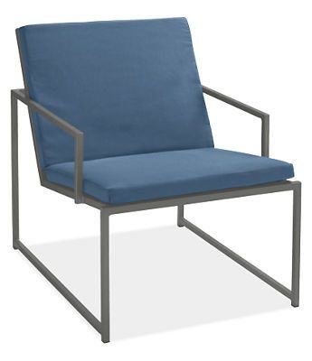 Cruz Lounge Chair With Cushions Chairs Chaises Outdoor Room Board 235 Deck