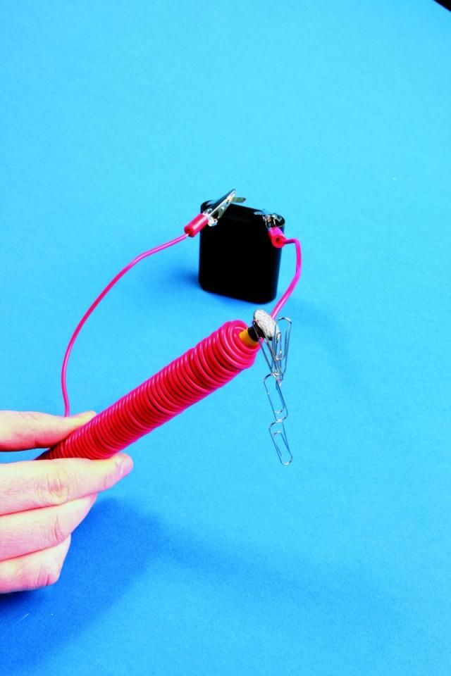 Maak een magneet op elektriciteit   Elektroclub