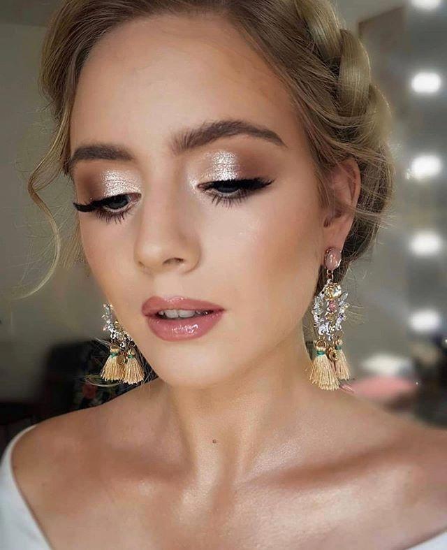 Discover More About Elegant Bridal Hairstyles Weddinghairstyleswithbraids In 2020 Wedding Eye Makeup Bridesmaid Makeup Natural Wedding Makeup