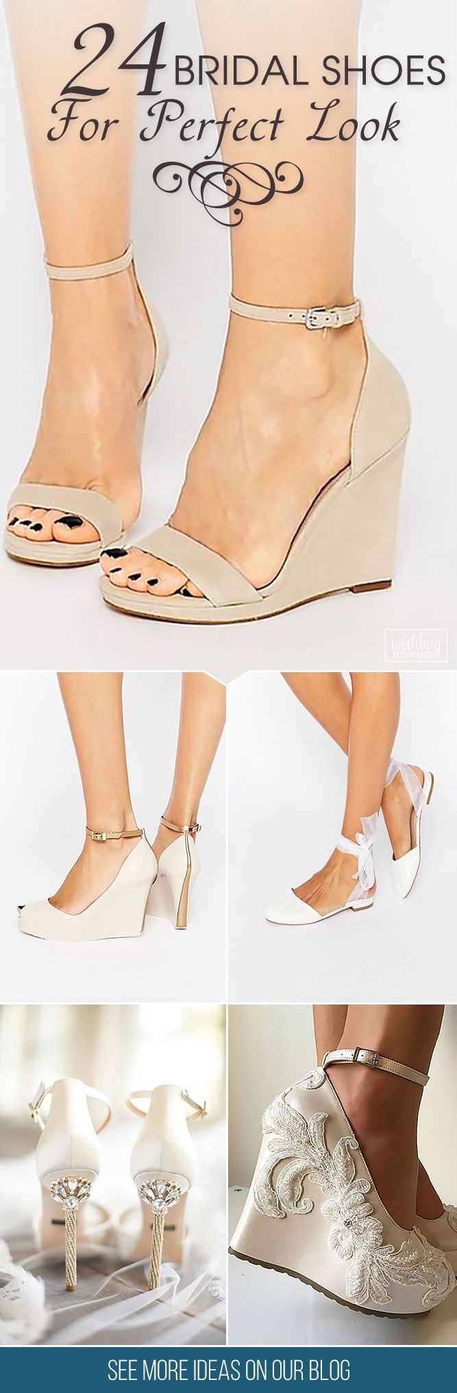 bridal shoes best wedding shoes 24 Gorgeous Bridal Shoes For Stunning Brides When you have already picked the right dress