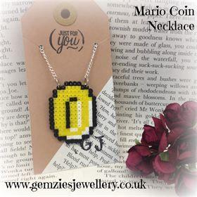 Mario Coin Necklace
