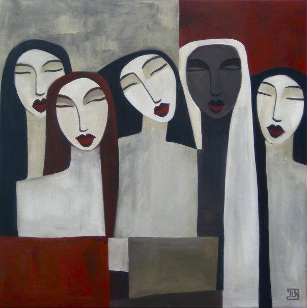 Jasmine Le Nozac'h, 1970 | Tutt'Art@ | Pittura * Scultura * Poesia * Musica |