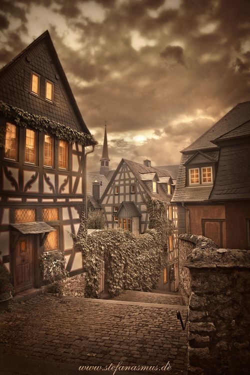 Medieval Village, Limburg, Germany photo via anastasia