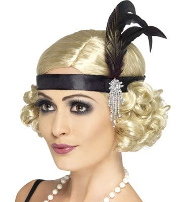 I think I am going to try and do my hair like this for Roaring 20s night!