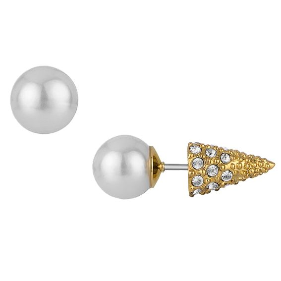 Chic Holiday Jewelry Under $50 - Sam Edelman Earrings from #InStyle