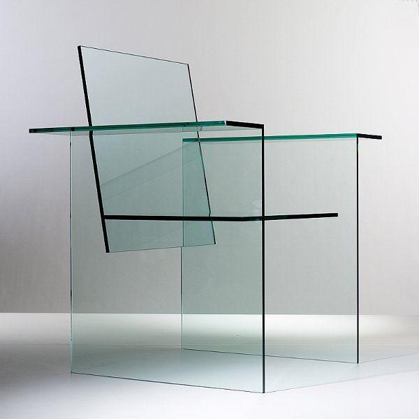 Kuramata Shiro // glass chair