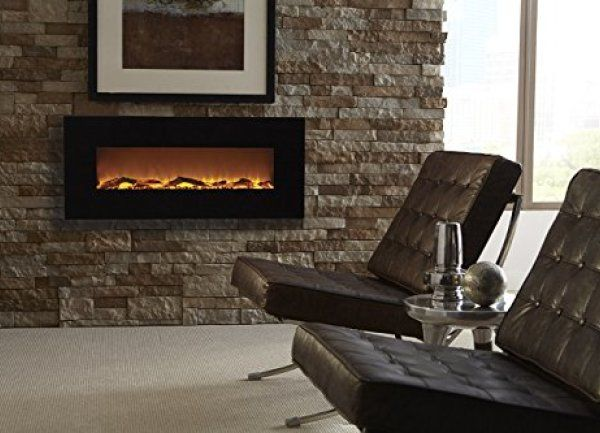 Best Wall Mount Electric Fireplace 2018 Touchstone 80001 Onyx
