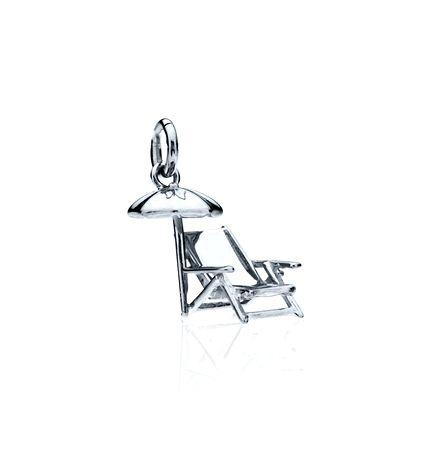 CBStark Jewelers - Beach Chair with Umbrella in sterling silver, $95.00 (http://www.cbstark.com/jewelry/beach-chair-with-umbrella-in-sterling-silver/)