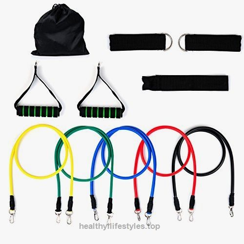 Resistance Bands, Vitalismo Exercise Bands Rubber Fitness Workout Bands with Door Anchor Ankle Strap Carrying Case for Home Gyms Physical Therapy (5 Colors) Check It Out Now $39.99 KEEP MOVING,BECOME MORE BEAUTY Vitalismo: As we know, everyone want to be more beautiful. Clothes and bag .. http://www.healthyilifestyles.top/2017/03/21/resistance-bands-vitalismo-exercise-bands-rubber-fitness-workout-bands-with-door-anchor-ankle-strap-carrying-case-for-home-gyms..