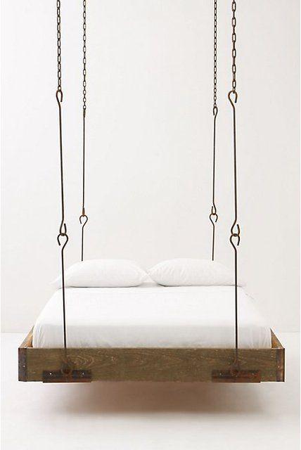 ber ideen zu paletten schaukel betten auf. Black Bedroom Furniture Sets. Home Design Ideas