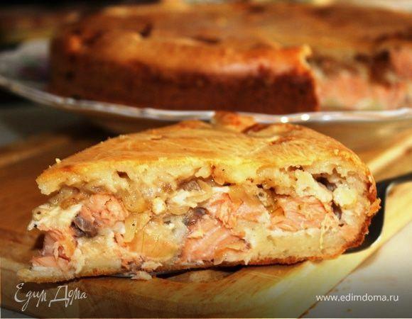 Скажу без преувеличения - для меня этот рецепт просто находка. Необыкновенно вкусный и простой в приготовлении рыбный пирог. Начинка очень сочная, а тесто нежное и с хрустящей корочкой. Мускатный ...