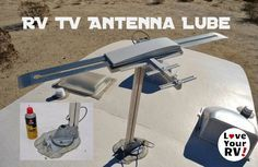 Just a reminder for those getting ready for the spring RVing season. I neglected TV antenna for the last year or so, and sure enough, it started to seize up. Our rig has the standard Winegard bat-wing style, hand crank TV antenna. The manual states to lubricate it twice a year with silicone spray. It is important to use silicone lubricant because the crankshaft has a rubber O-ring seal in it. Silicone is safe on rubber and will lubricate the O-ring. Other types of lubricants may damage the…