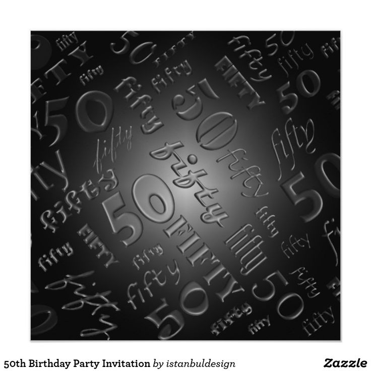 Best 20+ 50th Birthday Party Invitations Ideas On