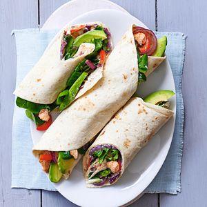 Recept - Romige zalmwraps met avocado - Allerhande