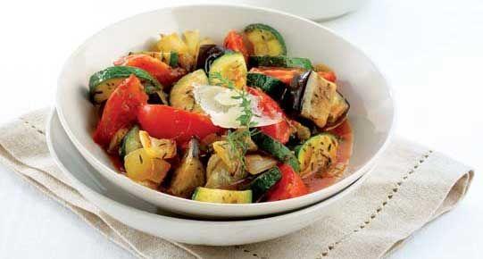 Mediterraans groentepannetje