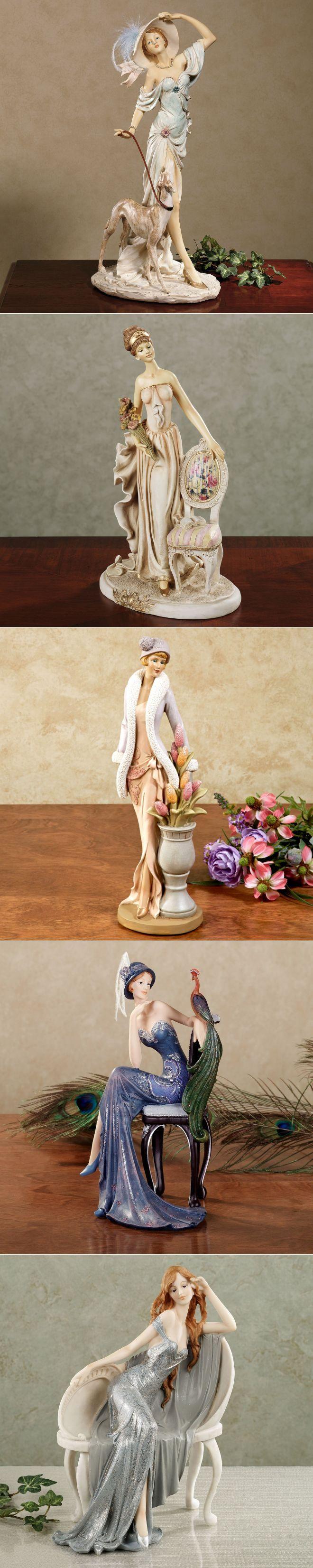 Изящная фарфоровая статуэтка...Викторианские Дамы