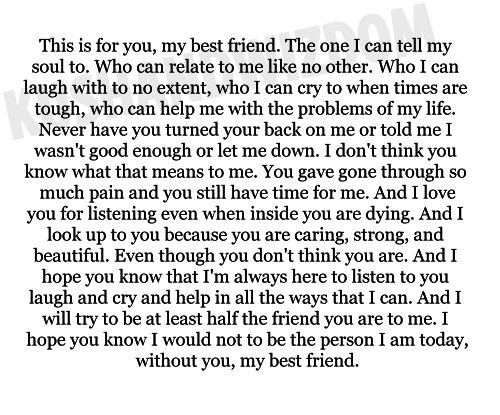 cute letters to your best friend - Google Search