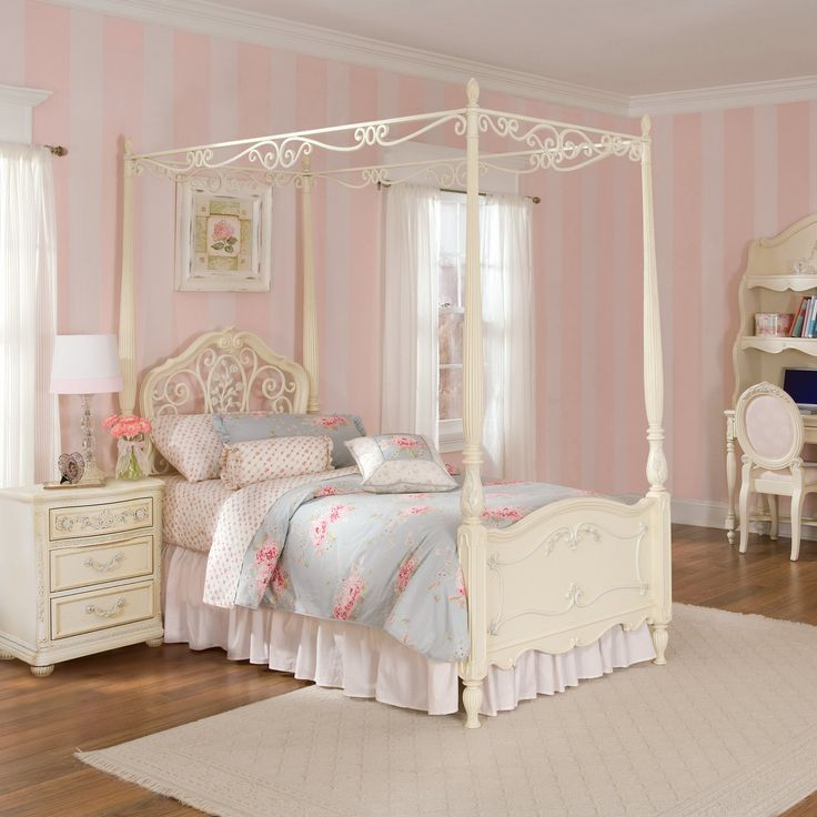Best 1000 Images About Girls Canopy Beds On Pinterest Little 640 x 480