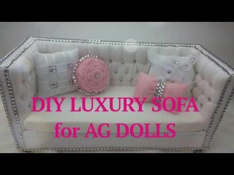 Coisas que Gosto: DIY Luxury Sofa for AG Doll