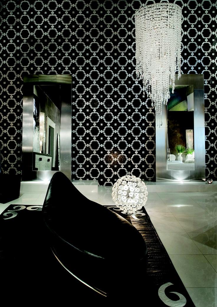 Trend Group Futurist 1 mosaic tile wallpaper - Splash Showroom