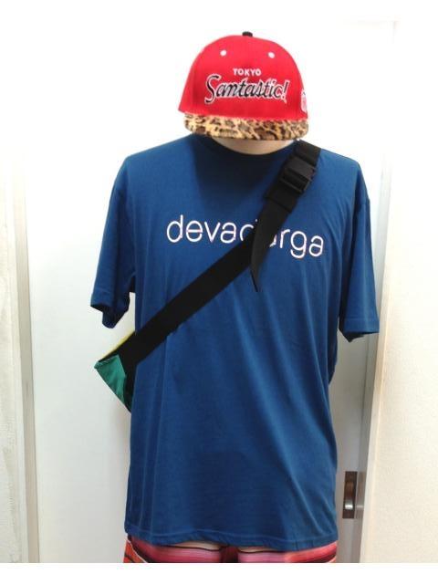 devadurga(デヴァドゥルガ) KARABINER Tシャツ(インディゴ) - TORTUGA|devadurga,SANTASTIC!,MURAL,MACKDADDY等の人気ブランド正規取扱・通販