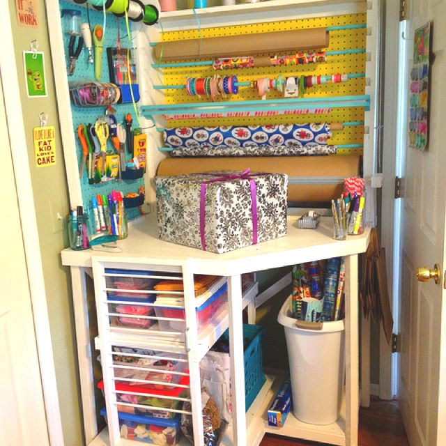 Sewing Room Gift Wrapping Room: 17 Best Images About Gift Wrapping Stations On Pinterest